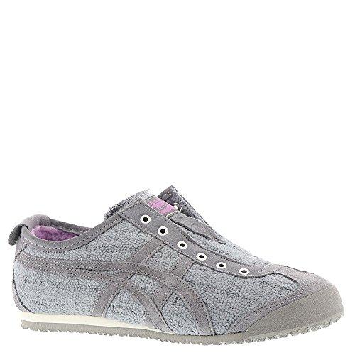 (Onitsuka Tiger Women's Mexico 66 Slip-on Shoes D7L8N, Aluminum/Aluminum, 8 M US)