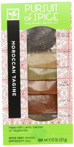 - Pursuit of Spice Moroccan Tagine, 1.10 Ounce