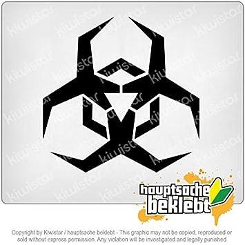 Amazon バイオハザードシンボルのイラスト Biohazard Symbol Clipart
