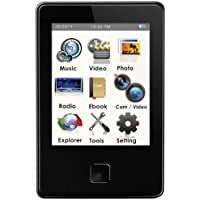 Ematic EM808 8 GB MP3 Video Player with 5 MP Camera and LED Flash