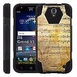 ZTE [Uhura Grand X3] Z959 Proton Guard Dual Layer Phone Case - Sheet Music