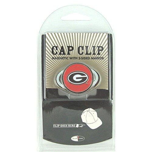 Georgia Bulldogs Hat Clip with Golf Ball (College Golf Cap Hat Clip)