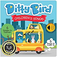 Interactive children's songs book for Babies. Sound books to spark language development. Gift for 1 year o