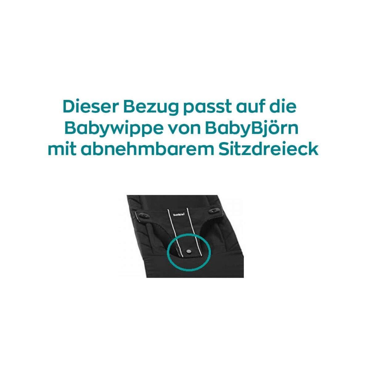 Funda en ukje para mecedora para beb/é Baby Bj/örn Balance 1/ /2/de 3/ /Gris tri/ángu /Por ambos lados costumbre Bar/ la Vieja estructura de la Baby Bj/örn Baby Balanc/ín /