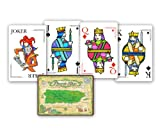 Puerto Rico Map Playing Cards