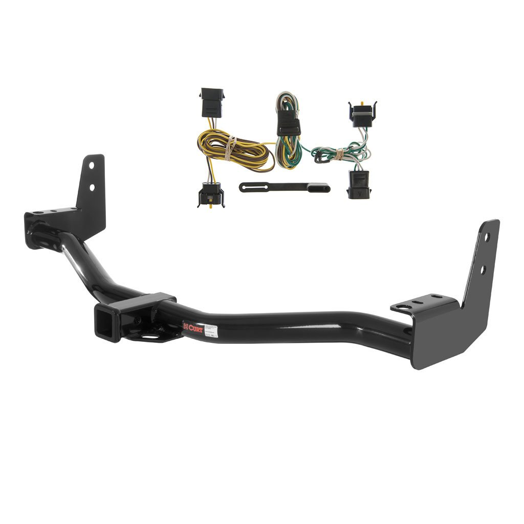 amazon com: curt class 3 trailer hitch bundle with wiring for ford  expedition, lincoln navigator - 13125 & 55344: automotive