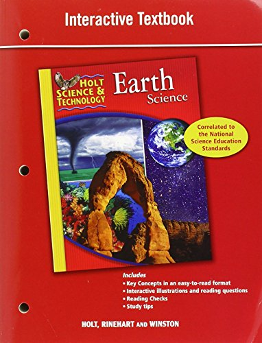 Holt Science & Technology: Interactive Textbook Earth Science