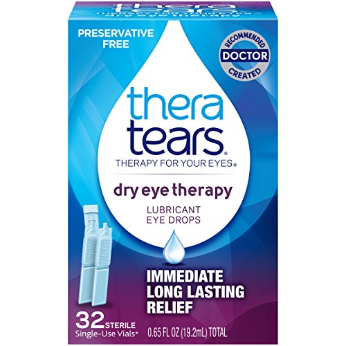 TheraTears Dry Eye Therapy- Lubricant Eye Drops- Preservative Free- 32 CT (Preservative Vials Free)