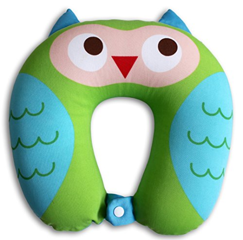 Nido Nest Kids Travel Neck Pillow Rest for Children - Airplanes, Cars, Road Trips, Sleeping, Naps, Gifts - Toddler, Preschool, Elementary Child - -