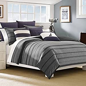 Nautica Sebec Comforter Set Full Queen Home Kitchen