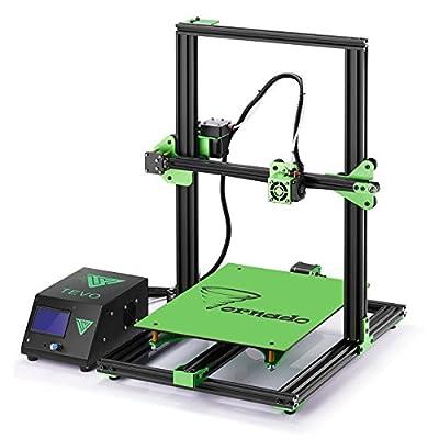 TEVO Tornado DIY 3D Printer Kit 300300400mm Large Printing Size 1.75mm 0.4mm Nozzle Support Off-line Print