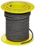 Mitchell Abrasives 49-S Round Abrasive Cord, Silicon Carbide 120 Grit .082'' Diameter x 25 Feet