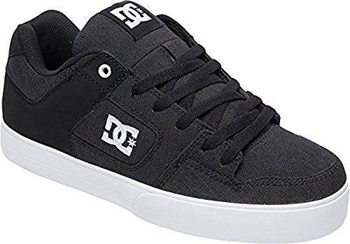 Dc Mens Zuivere Tx Se Skate Shoe Black Marl