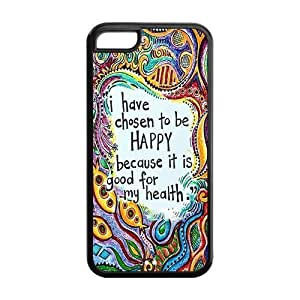 5C Phone Cases, Bible Verse Hard TPU Rubber Cover Case for iPhone 5C
