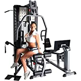 BodyCraft X2 Dual Stack Strength Training System with Multi-Hip Station
