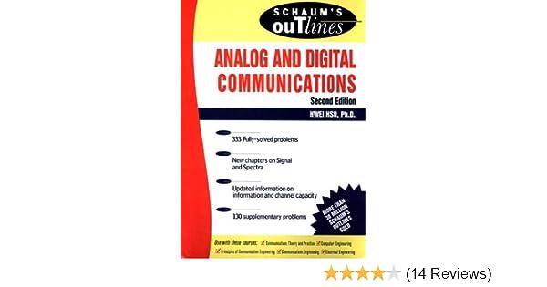 Schaum's Outline of Analog and Digital Communications, Hwei P Hsu