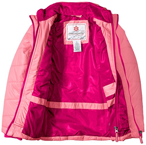 Little Pink Blush Coat Puffer Free with Country Vestee Girls' gUqZ57Cxw