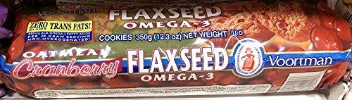 voortman Oatmeal Cramberry Flaxseed omega 3 12oz