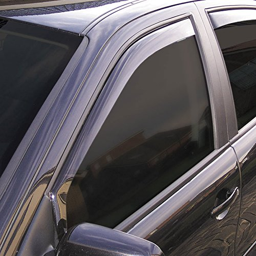Climair 3989 Window Dark Visors Black