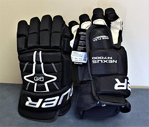Bauer Nexus N7000 Hockey Gloves - Senior - 13 Inch - Black