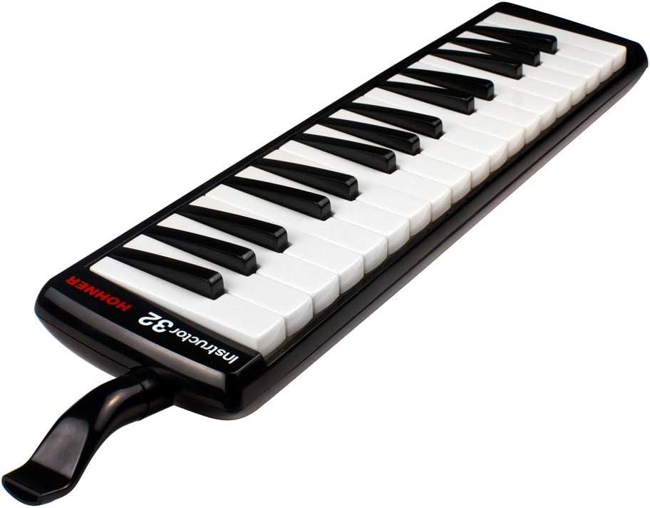 Hohner 32B 32-Key Student Melodica - Black