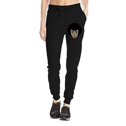 2335ca2e302 Amazon.com: African American Women's Sweatpants Jersey Pocket Pant ...