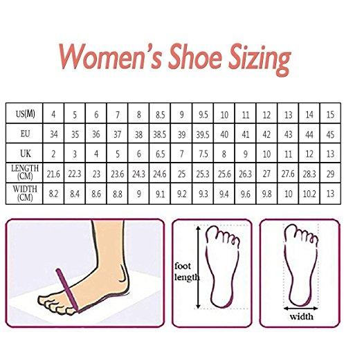 Club Sandals Rivets Studs Strap US Black Heel Shoes with Women Pumps Pointed PVC 4 Size FSJ 15 Ankle High Toe PBRAwxCnq