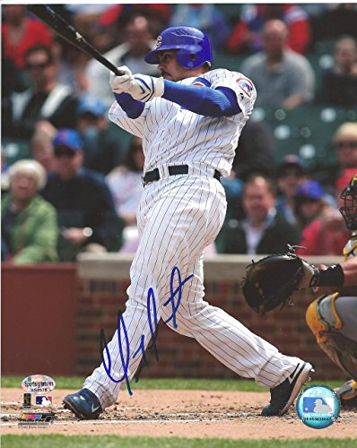 Chicago Soto Cubs Photograph - Geovany Soto Autographed Chicago Cubs Home 8x10 Photo