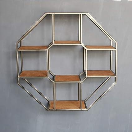 Estantes octágono, grandes estantes octágono, hierro octógono ...