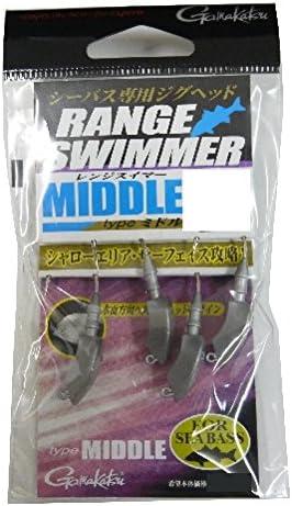 Gamakatsu Jig Head Middle Range Swimmer 5 Grams Size 2//0 3332 4 Per pack