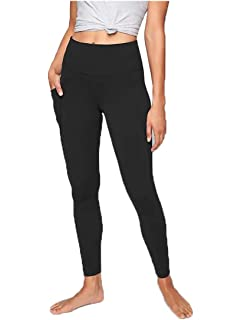 83f3a09e3f627 ACTIVE LIFE Compression High Waist 2 Pockets Yoga Legging - Black (Size L)
