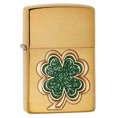 Buy zippo vintage brushed finish brass lighter