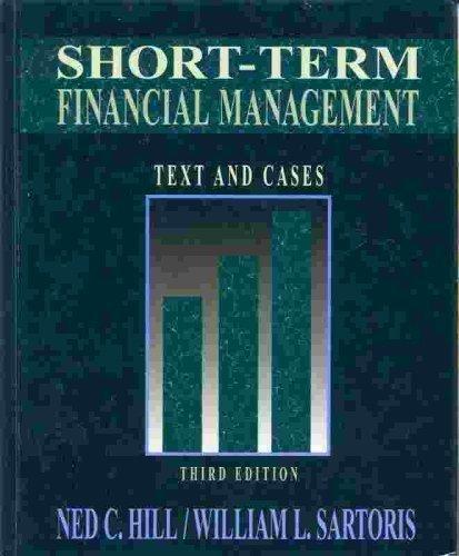 Short Term Financial Management