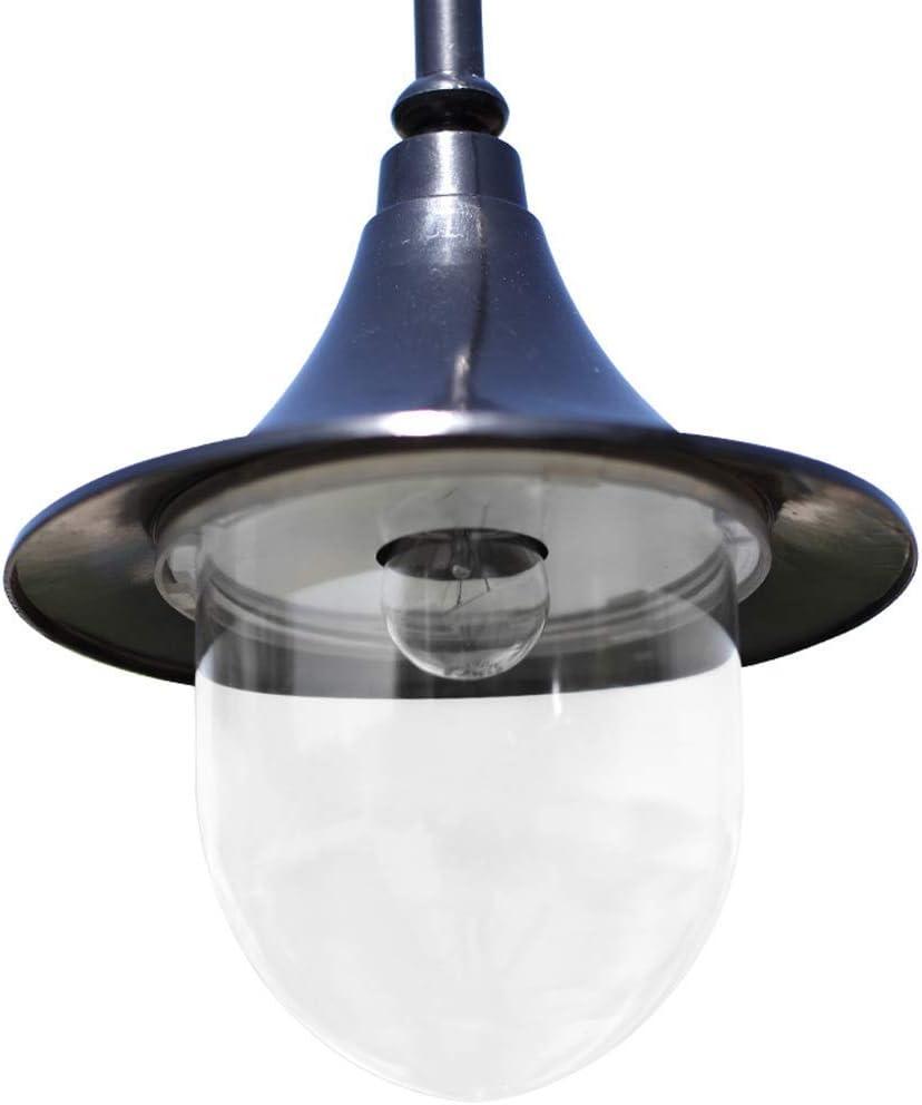 ZGYZ Superhelle 2-Licht LED-Straßenbeleuchtung Outdoor Villa Halle Dekoration Rasenlicht Acryl Patio Hochpol Säule Lampe Wasserdicht Höhe 250cm