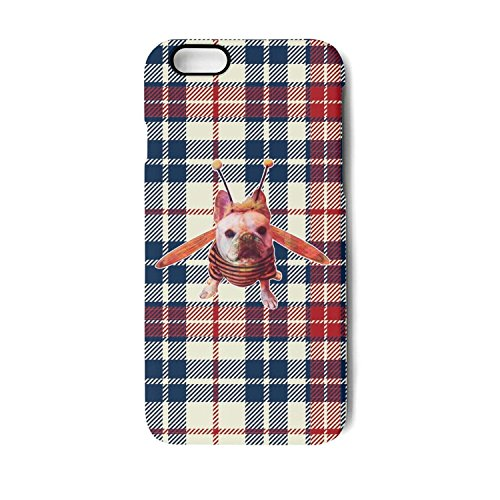 Iphone Case bulldog honey bee cute Slim Flexible Soft Silicone Bumper Shockproof Case For Iphone 7,Iphone 8