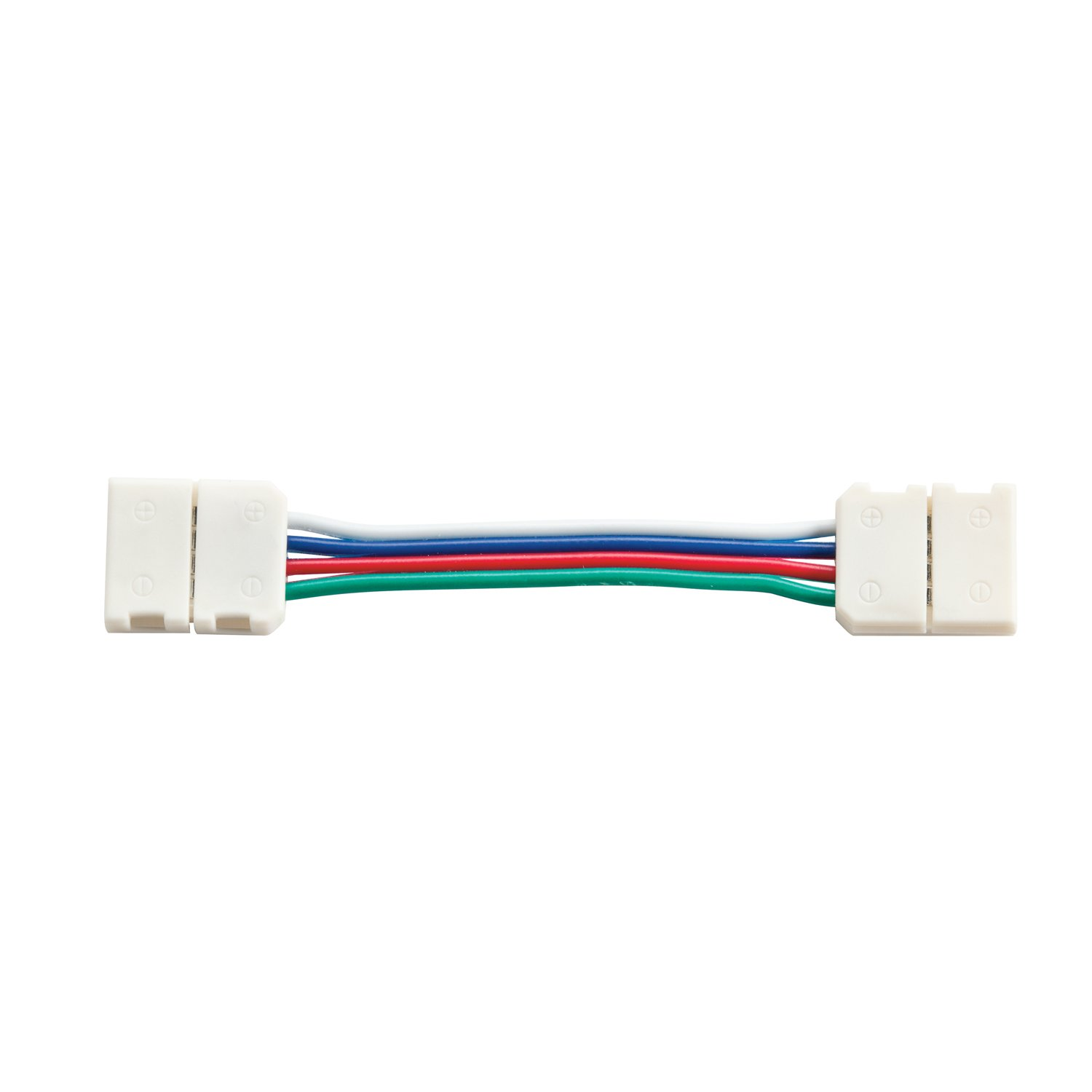 Kichler 1IC02RGBWH Dry Tape Accessory LED Tape 2-Inch Interconnect, White Material (Not Painted) by KICHLER