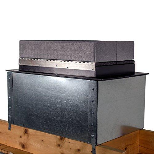 The 'Muffler' Acoustic Fan Plenum Riser by Tamarack Technologies