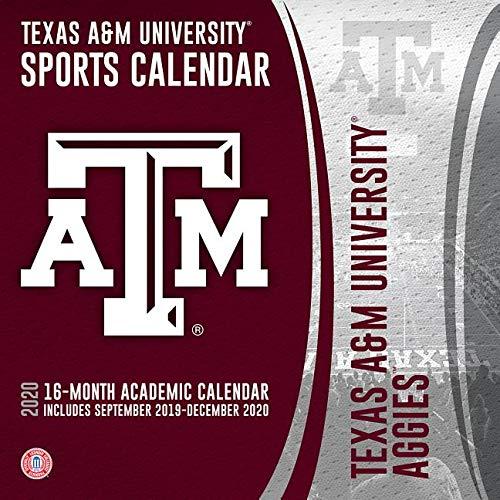 Texas A&M Calendar 2020 Texas A&m Aggies 2020 Calendar: Inc. Lang Companies: 9781469368665
