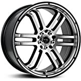 2002 buick lesabre rims - Drifz FX 17x7.5 Silver Wheel / Rim 5x110 & 5x115 with a 38mm Offset and a 73.00 Hub Bore. Partnumber 207MB-7754338