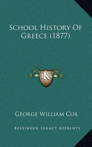 Download School History Of Greece (1877) pdf