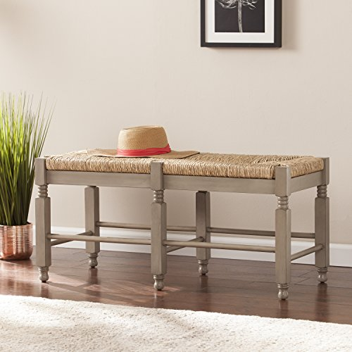 Karvina Seagrass Entryway/Dining Bench/Cocktail Table - 38'' W x 16'' D x 17.5'' H by SEI