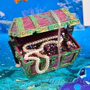 Aquarium fish tank ornament air action for Fish tank decorations amazon