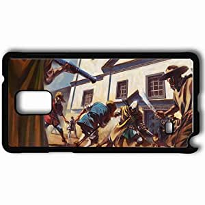 Personalized Samsung Note 4 Cell phone Case/Cover Skin Art Battle People Weapon City Black