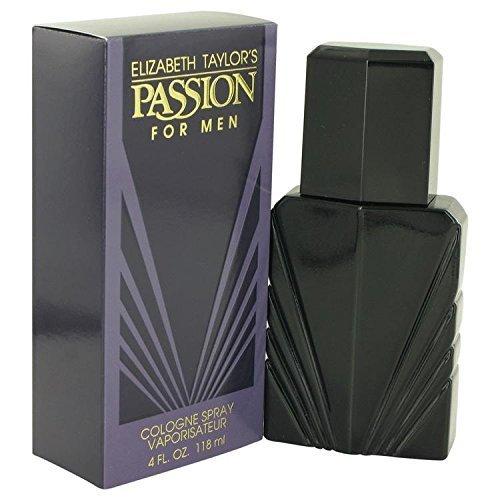 PASSION by Elizabeth Taylor Cologne Spray 4 oz for Men - 100% - Mens Cologne Passion