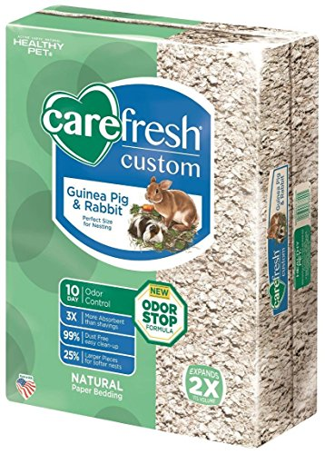 Carefresh Custom Rabbit/Guinea Pig Pet Bedding, 60 L, (Small Pet Care)
