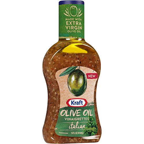 Kraft Olive Oil Vinaigrette Italian Salad Dressing 14 oz (Italian Vinaigrette Dressing)