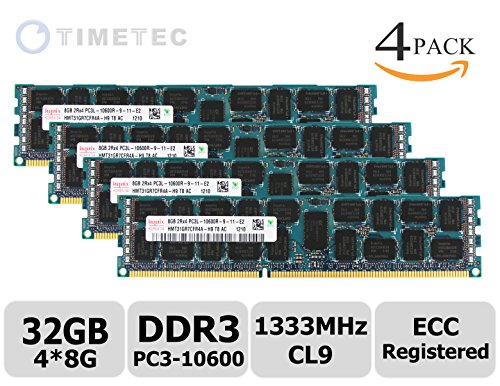 timetec-hynix-32gb-kit-4x8gb-ddr3l-1333mhz-pc3-10600-registered-ecc-135v-cl9-2rx4-512x4-dual-rank-24