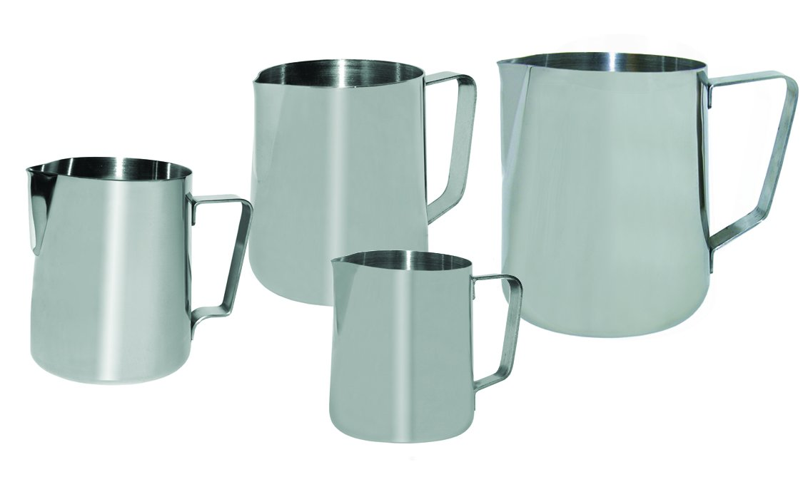 Update International (EP-50) 50 Oz Stainless Steel Frothing Pitcher