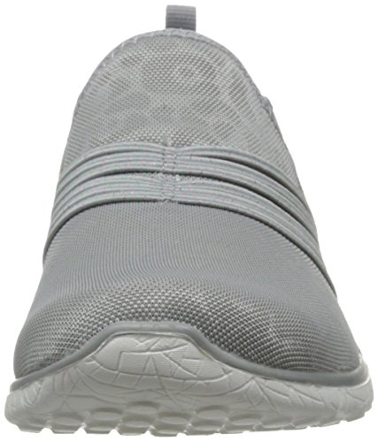 Skechers 39;S Microburst Under Wraps Leopard Print Slip-On Chaussures - Gris, Gris, 37