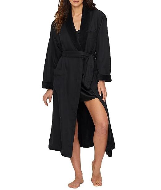 909e098067d72 Monarch Cypress Microfiber Plush-Lined Robe  Amazon.ca  Clothing ...